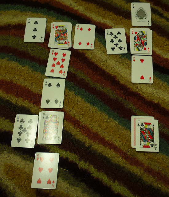 Make 10 - Play continues after a face card is collected.